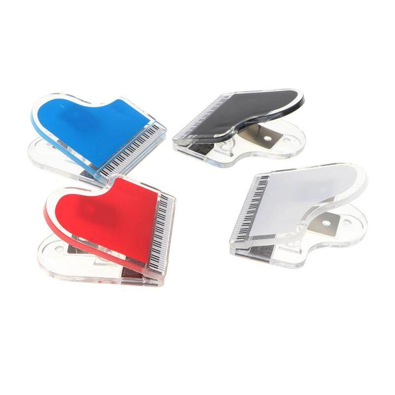 Baoblade 4 Pieces Transparent Acrylic Music Score Clip Stationery for Book Accessory Malaysia
