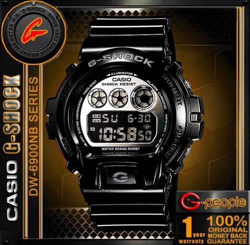 CASIO G-SHOCK DW-6900NB-1DR / DW-6900NB-1D / DW-6900NB-1 / DW-6900NB WATCH 100% ORIGINAL Malaysia