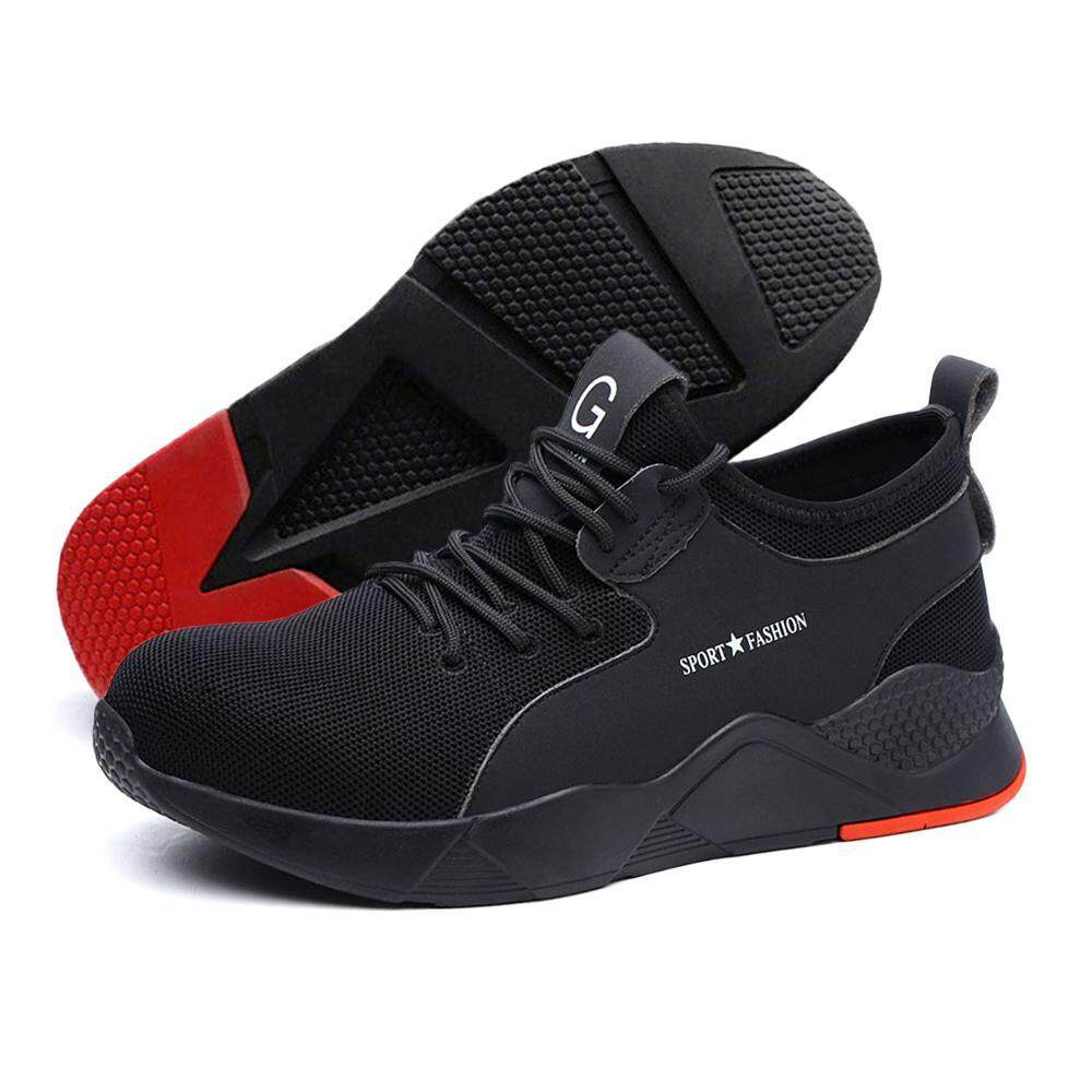 4be083db9c5 OnLook Double Loaded Heavy-Duty Sports Shoes, Safety Work Shoes,  Breathable, Non-Slip, Anti-Piercing
