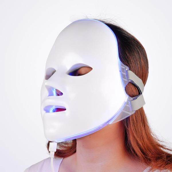 Buy Facial Mask Therapy 7 colors Light Beauty Photon Skin Rejuvenation Face Care Treatment Beauty Anti Acne Therapy Whitening SPA Singapore