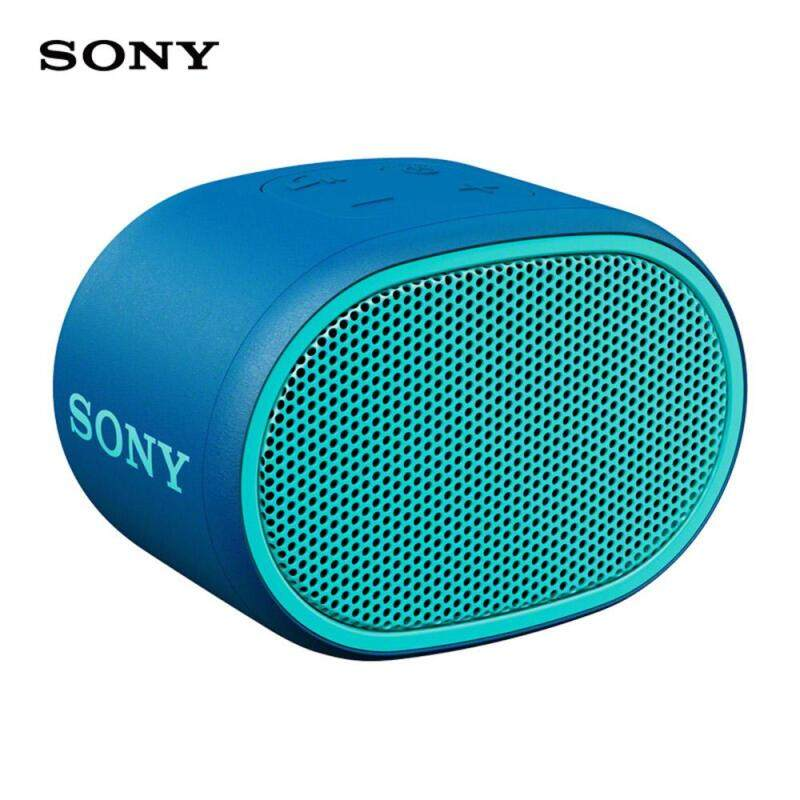 Sony SRS-XB01 Mini Bluetooth Speaker Portable Bluetooth 4.2 Wireless Subwoofer Deep Bass Waterproof IPX5 Outdoor Speaker Handsfree Call 3.5mm Port Singapore
