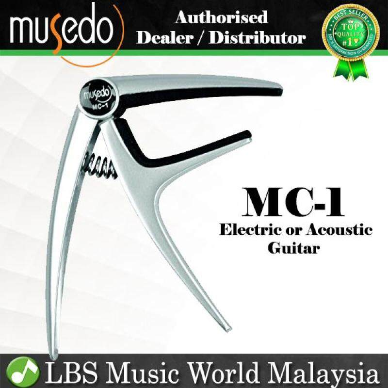 Musedo MC-1 Guitar Capo for Both Acoustic Guitar and Electric Guitar Change Tune Key Clamp (MC1) Malaysia