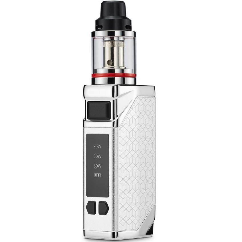 BEST Electronic Cigarette Kit 80W 2200mAh Battery Vape Mod Hookah 0 35ohm  2 8ML Tank E-cigarette Atomizer 510 Metal Body Vaper Healthy Smoking Large