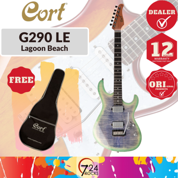 724 ROCKS Cort G290 LE G-Series Stratocaster Electric Guitar Malaysia