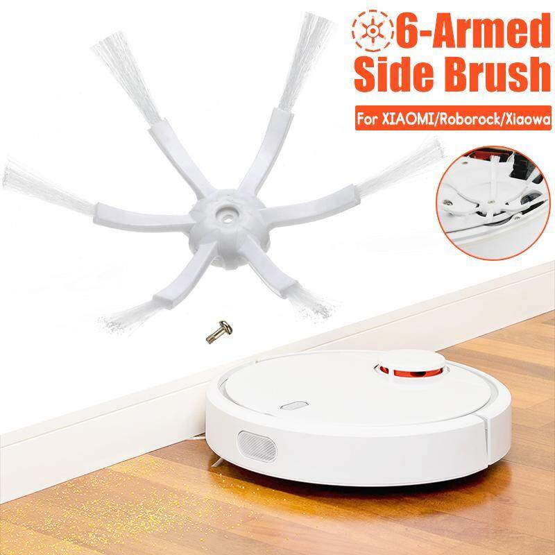 【Free Shipping + Flash Deal 】6-Armed Side Brush Replacement For XIAOMI/ Roborock/ Xiaowa Robot Vacuum Cleaner Singapore