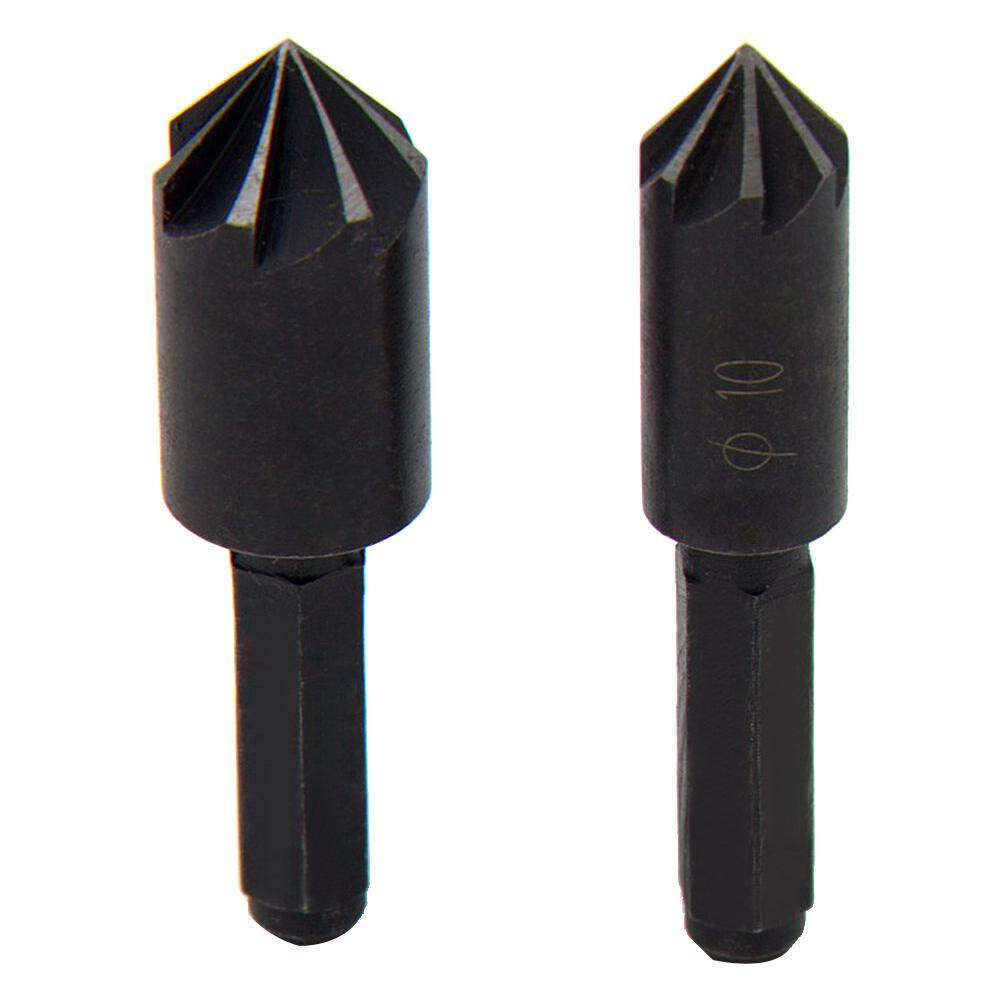 High Carbon Steel Chamfer Hex Handle Countersink Boring Set for Wood Soft Metal Quick Change Drill Bit Tools Chamfering Machine