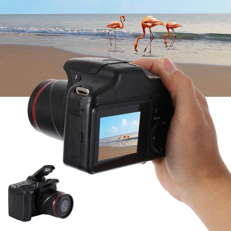 Đồ Chơi Kỹ Thuật Số Chụp Chuyển Động Cho Trẻ Em Máy Ảnh Kỹ Thuật Số SLR Phóng To 16x LCD TFT 2.4 Inch, Chống Rung 1080P HD