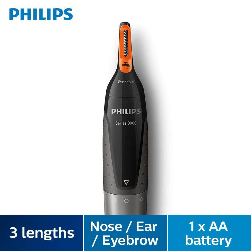 Philips Nosetrimmer Series 3000 ( Comportable Nose, Ear & Eyebrow Trimmer) Nt3160/10 ( Nt3160/10 ) By Blipmy.