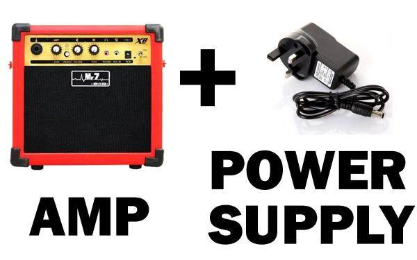 8W Portable Guitar Amplifier for Acoustic / Electric Guitar or Keyboard Malaysia