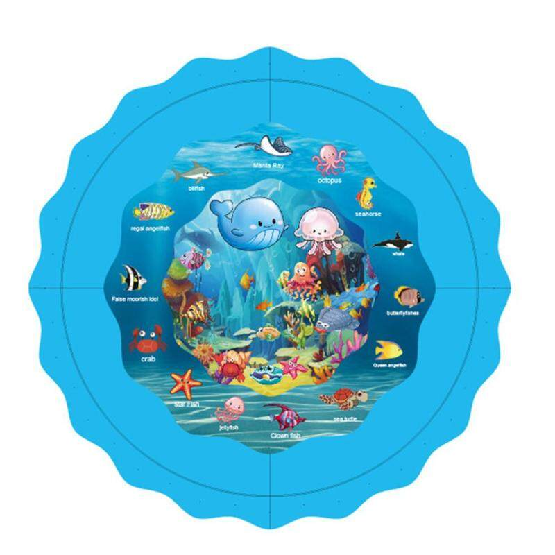 Kids Water Spray Toy Inflatable Outdoor Water Pad Lawn Game Water Pads Singapore
