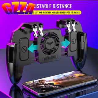 Gzza Gamepad Ưa Thích Giá Rẻ M10 M11 Sáu Ngón Tay Tay Cầm Chơi Game Di Động Tay Cầm Chơi Game Cho Memo Di Động Bộ Điều Khiển Trò Chơi Điện Thoại Tay Cầm Chơi Game Cho Bộ Điều Khiển Trò Chơi Pubg Tương Thích thumbnail