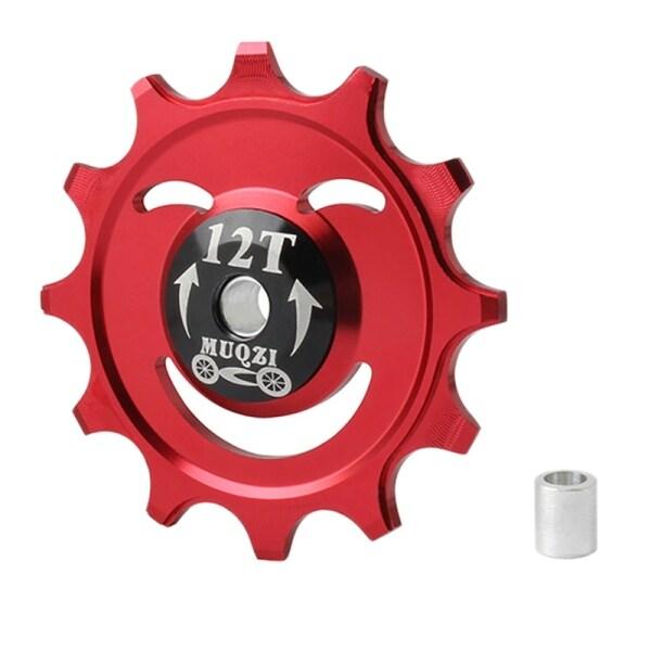 Mua MUQZI MTB Road Bike Jockey Wheel 12T Bicycle Rear Derailleur Bearing Guide Pulley Bike Parts