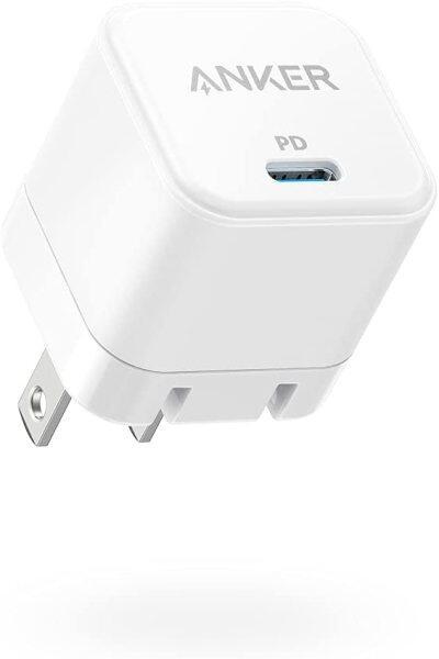Anker Sạc Nhanh 2 Gói 20W Với Có Thể Gập Lại Cắm, Bộ Sạc Khối PowerPort III 20W Dành Cho iPhone 12/12 Mini/12 Pro/12 Pro Max/11, Galaxy, Pixel 4/3, iPad Pro, V. V.