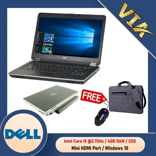 【MICRO HDMI】DELL LATITUDE E6430S CORE I5 (3rd Gen)~4GB DDR3~HDD / SSD~WINDOWS 10 Malaysia