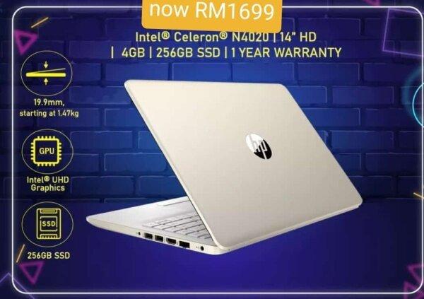 NEW LAPTOP HP 14 HD Malaysia