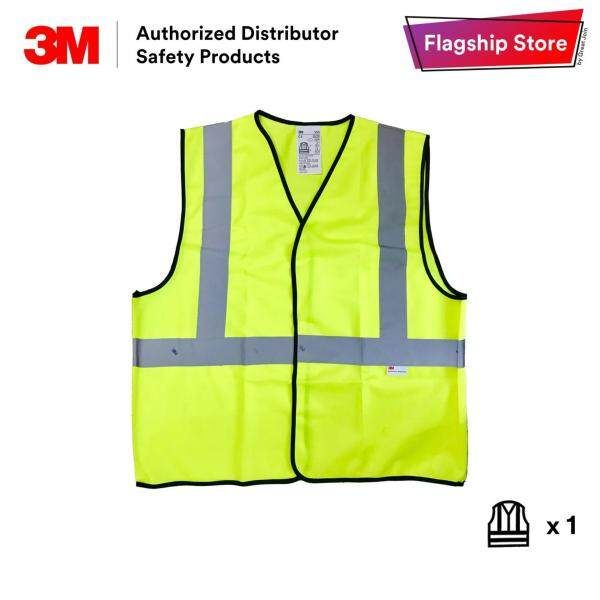 3M 2925 Reflective Safety Vest 1 Stripe Solid Vest [Lime Yellow]