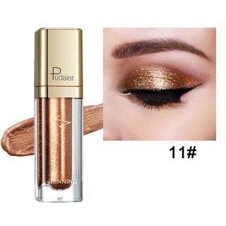Es 18 Warna Perona Mata Berkilau Cairan Tahan Air Berkilau Makeup Eyeliner Kosmetik thumbnail