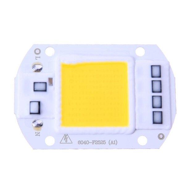 Bảng giá 【Đèn Mặt Trời】 Đèn Pha LED 50W Chip COB Đầu Vào 220V, Bộ Điều Khiển IC Thông Minh Tích Hợp