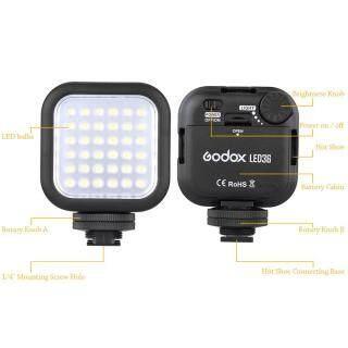 Đèn Video Godox LED36 36 Đèn LED Cho Máy Ảnh DSLR Máy Quay Phim Mini DVR thumbnail