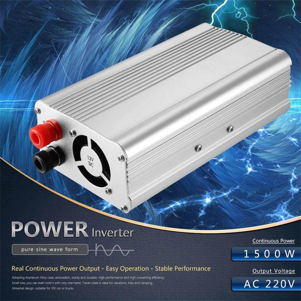 Car Inverter For Sale Power Converter Online Brands Prices Case Vac Wiring Diagram Osman Dc 12v To Ac 220v Auto 1500w Transformer 3pcs Free