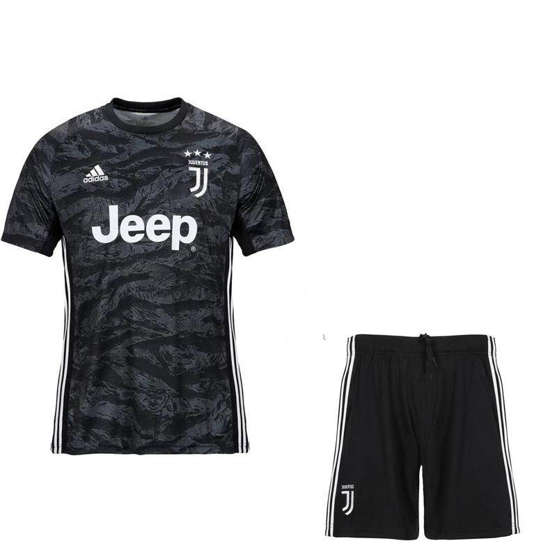 aaa1f8d325b 2019/20 Children Top Quality Juventus Goalkeeper kids Kit No.1 Szczesny  Home Football