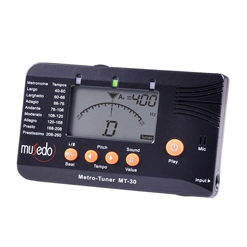 Musedo Mt-30 Metro-Tuner 3-In-1 Tuner, Metronome, Tone Generator For Guitar, Bass, Ukulele, Violin Malaysia