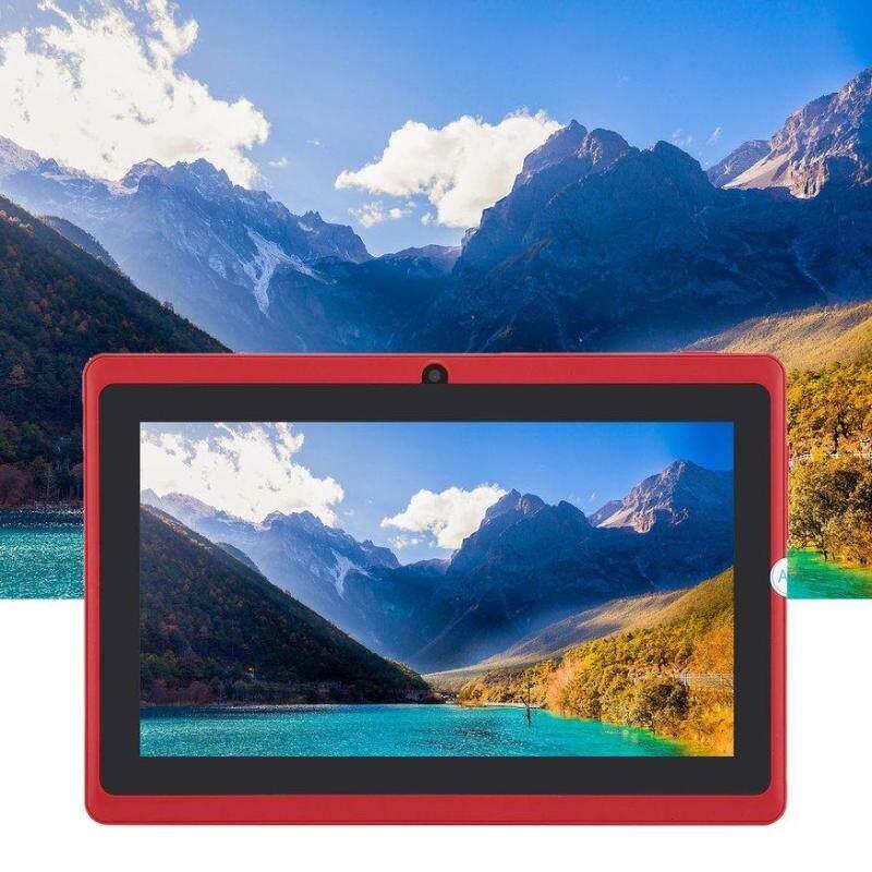 Q88 Quad-core Wifi 7-inch USB cấp nguồn 512 M + 4G màu đỏ
