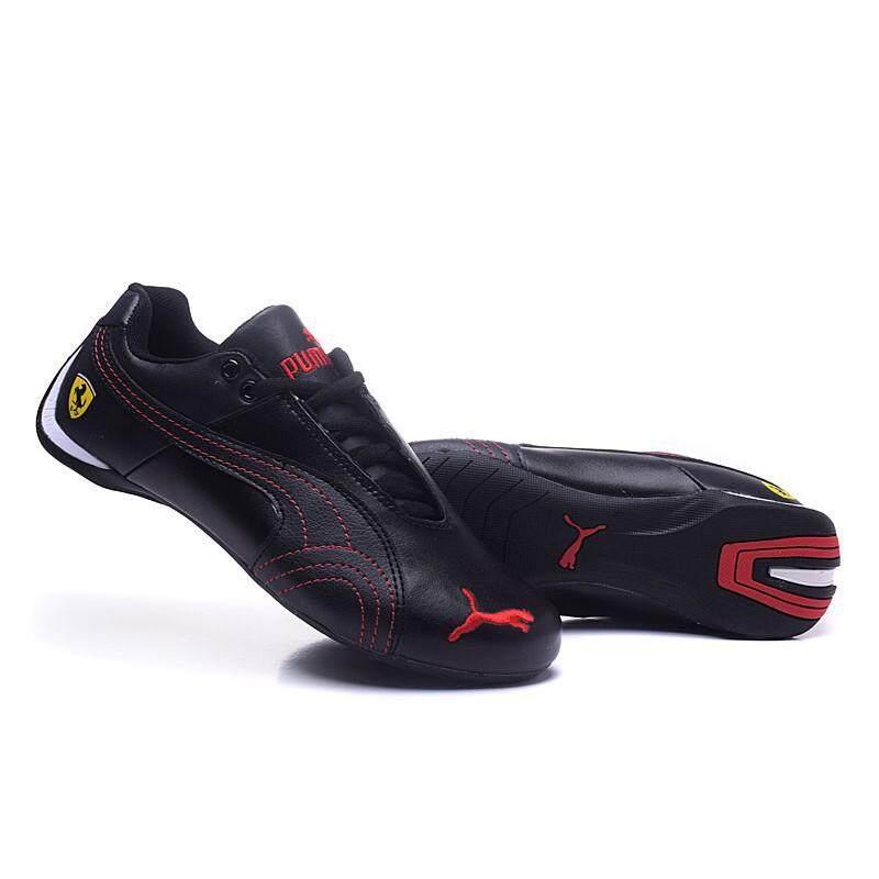 SLK ★ Puma Ferrari leather shoes Sports shoes Casual Shoe sneakers black travel shoes