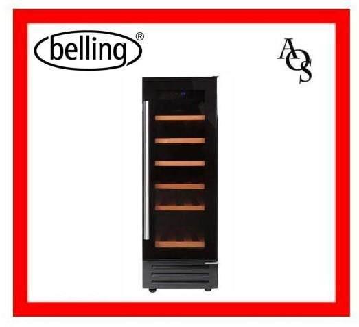 Belling 300blkwc Wine Chiller 58l 18-Bottles By Appliances Online Sale.
