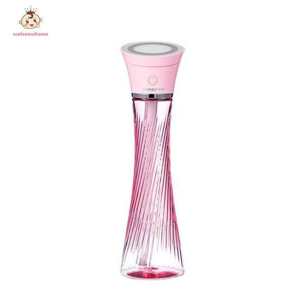 250ml Ultrasonic Air Humidifier Tower Shape Portable Aromatherapy Mist Diffuser Home Appliances Singapore