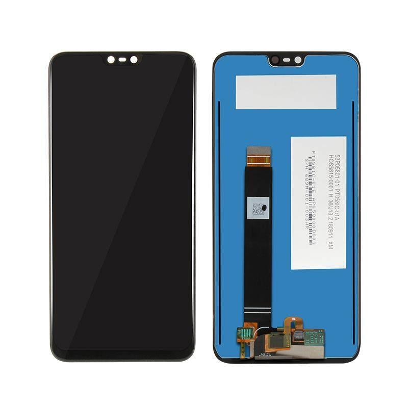 Layar LCD untuk Nokia 6.1 PLUS Layar Sentuh Panel Digitizer LCD Rakitan Perbaikan Suku Cadang untuk Nokia X6 2018 5.8 Inch