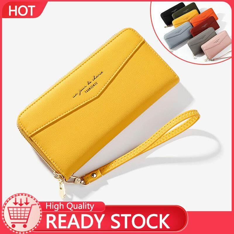 Johnn ladies wrist bag Korean version of the large-capacity long mobile wallet ladies clutch bag
