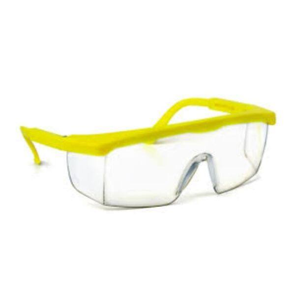 UV Clear Lens Protection Adjustable Safety Goggle