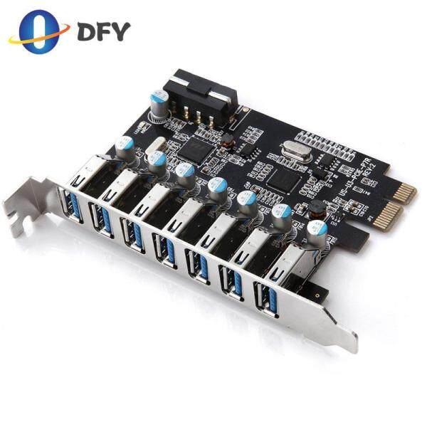 Giá 7 Cổng Siêu Tốc PCI-E Sang USB 3.0 Bo Mạch Mở Rộng PCI Express Nội Bộ