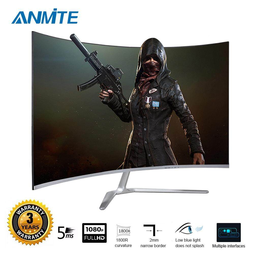 Anmite  32 75hz HDR Curved FHD [1920 x 1080] Gaming Monitor PC HDMI Led Display