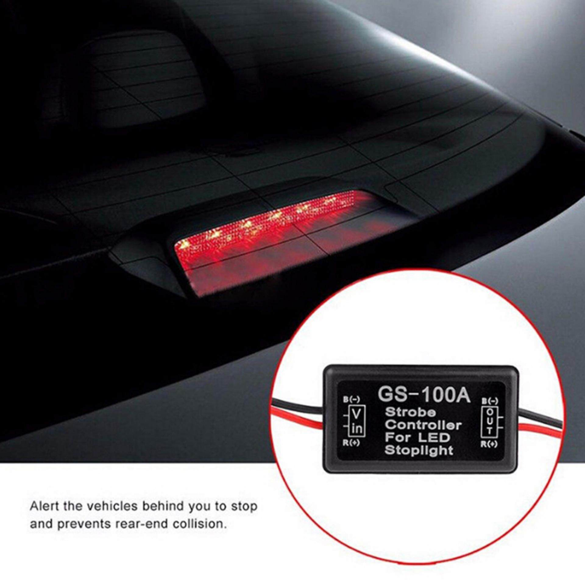 Sissi Vehicle Car Gs-100a Led Brake Stop Light Strobe Flash Module Controller Box By Sissi Princess.