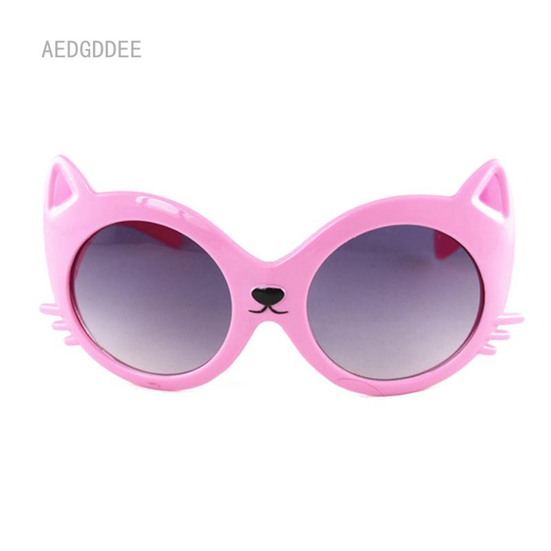 Giá bán AED Cô Gái Cậu Bé Dễ Thương Mèo Chống UV Kính Mắt Toddler Bé Phim Hoạt Hình Mèo Sunglasses Cho Trẻ Em Trẻ Em 2-10Y