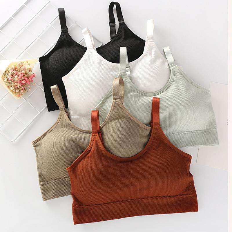 141413a3296 Women Bra Adjustable Seamless Breathable Push Up Leisure Outdoor underwear  Full cup