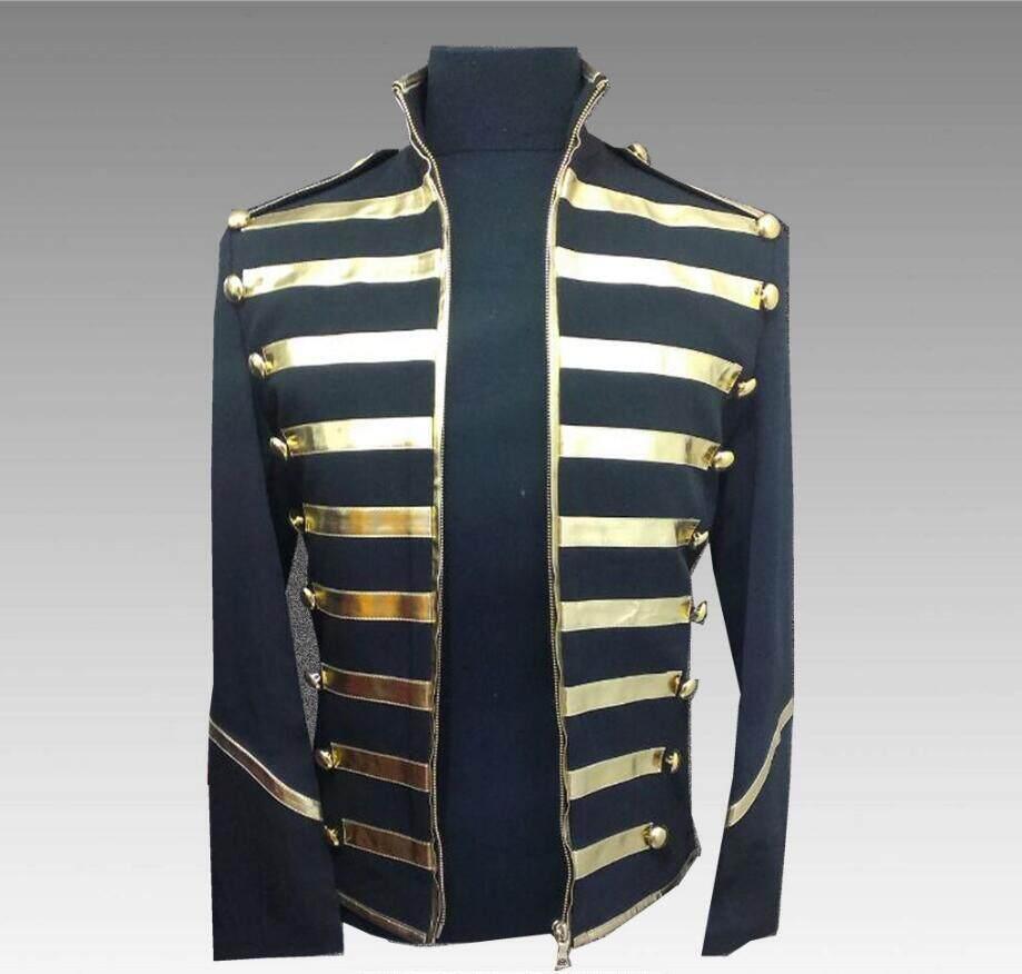 2018 Men clothing BIGBANG GD Fashion Michael Jackson Suit Plus size Stage nightclub bar male band rock singer Costume