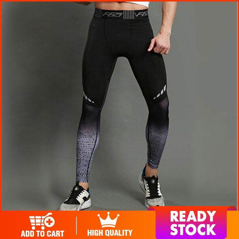 33162a6e78 DS Sports suits for man tights men's fitness leggings running training  trousers high stretch quick-