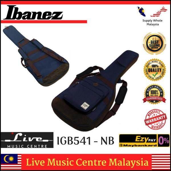 Ibanez IGB541-NB Powerpad Electric Guitar Bag, Navy Blue (iGB541) Malaysia