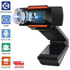 Webcam 1080P HD Webcam Cho PC Hội Nghị Truyền Hình Trực Tuyến Giảng Dạy Trực Tuyến Máy Ảnh Web Phát Sóng Trực Tiếp Cho Máy Tính Máy Tính Xách Tay 720P/480P