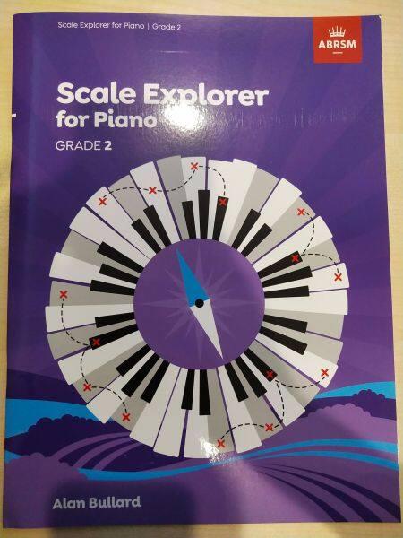 Scale Explorer for Piano Grade 2 Malaysia