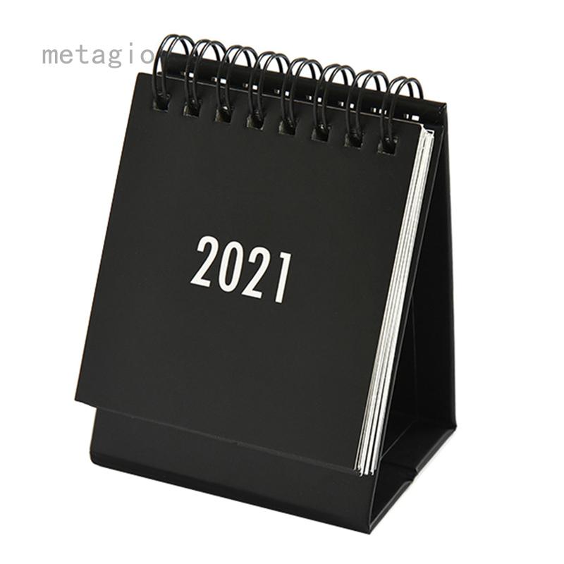 Metagio đơn giản đen trắng xám loạt lịch máy tính để bàn lịch trình kép hàng ngày bảng kế hoạch chương trình nghị sự hàng năm tổ chức