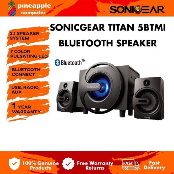 SonicGear Titan 7 BTMI Pro Bluetooth 2.1 Multimedia Speaker System Malaysia