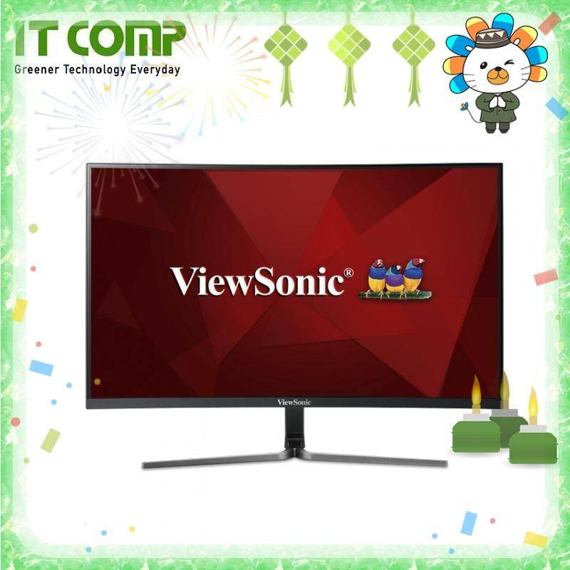 Viewsonic Vx2758-C-Mh 27 144hz Freesync Curved Lcd Monitor By It Comp.