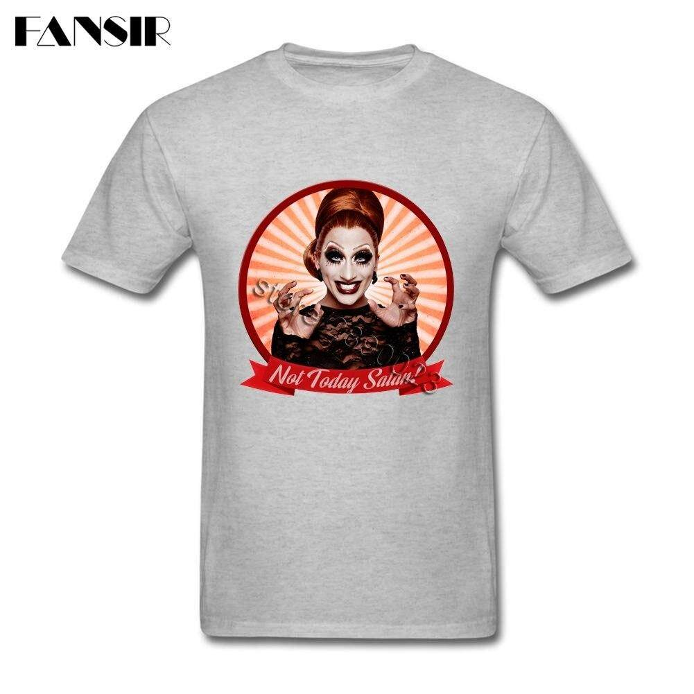 75e66d9ee MZDOF Bianca Del Rio Rupaul Clothes Great Men T-shirts Short Sleeve Pure  Cotton O