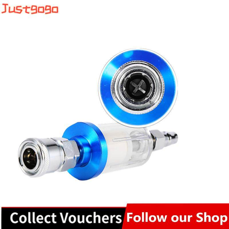 Justgogo Spray Tool Air Line Filter Water Trap Clear Painting Moisture Separator With Male And Female Ada By Justgogo.