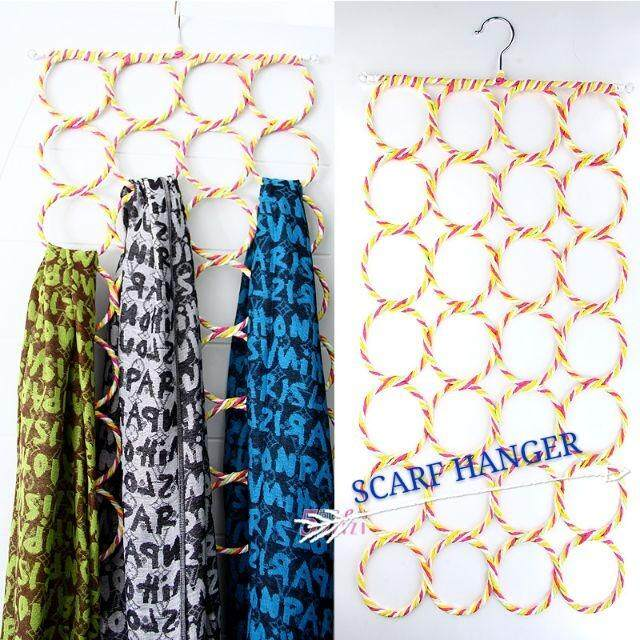 Hanger 28 Holes Scaft Tudung Shawl By Comelstore.