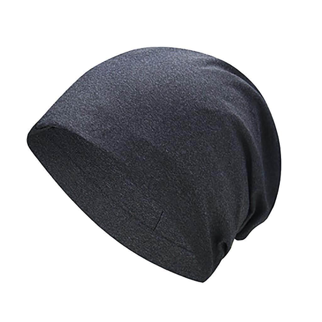 Hammshop Murni Warna Musim Gugur Tebal Pelindung Telinga Lembut Topi Beanie  Rajutan Topi 9b070d0aa3
